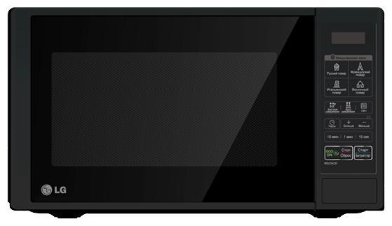 Микроволновая печь LG MS-2342DB 800 Вт чёрный батарейку на lg kg 800