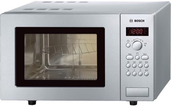 Микроволновая печь Bosch HMT75G451R 800 Вт серебристый пила дисковая bosch gks 55 g 601682000
