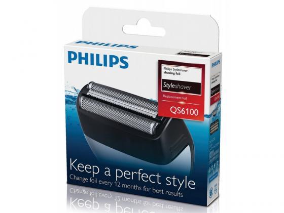 Бритвенные головки Philips QS6100/50 для QS6140 3шт philips qs 6100 50 бритвенные головки для стайлера qs6140