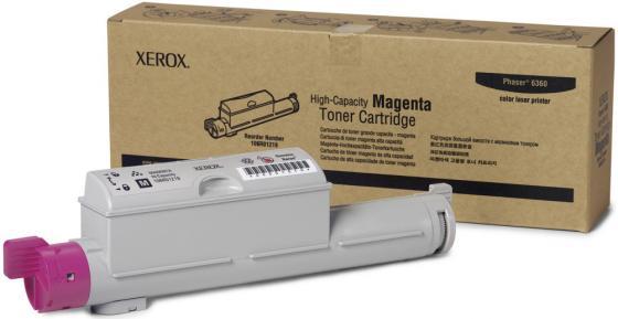 Картридж Xerox 106R01219 для Phaser 6360 пурпурный 12000стр цена