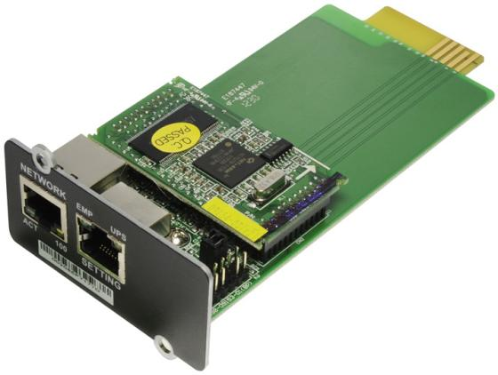Адаптер Ippon NMC SNMP для Innova RT Smart Winner New 744-А2568-00Р модуль ippon nmc snmp card 687872 innova rt smart winner new