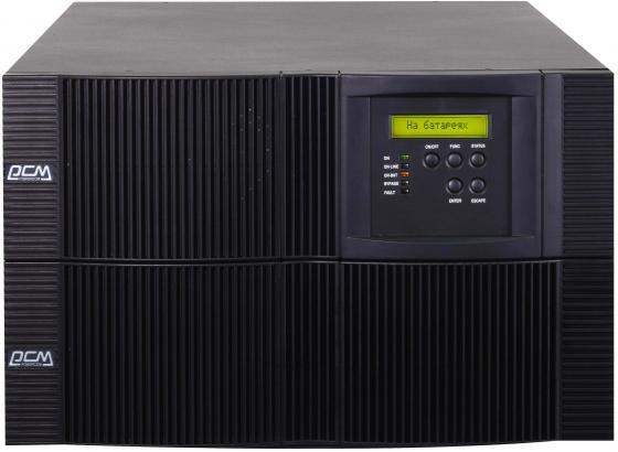 ИБП Powercom VRT-10K 1000VA ибп powercom vanguard rm vrt 1000xl 900w 1000va
