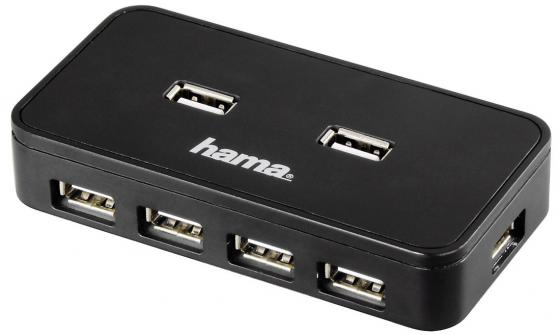 Концентратор USB 2.0 HAMA H-39859 7 x USB 2.0 черный free shipping 100pcs lot cr6853 sot23 making 6853i34 14 100%new ic