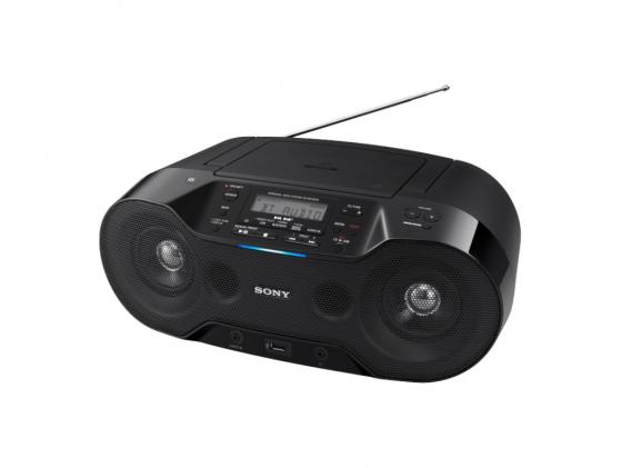 Магнитола Sony ZS-RS70BT черный цена и фото