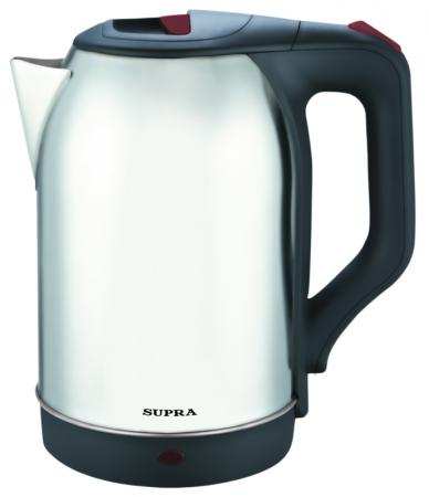 Чайник Supra KES-2230 2200 Вт серебристый 2.2 л металл чайник supra kes 1838 2200 вт серебристый чёрный 1 8 л нержавеющая сталь