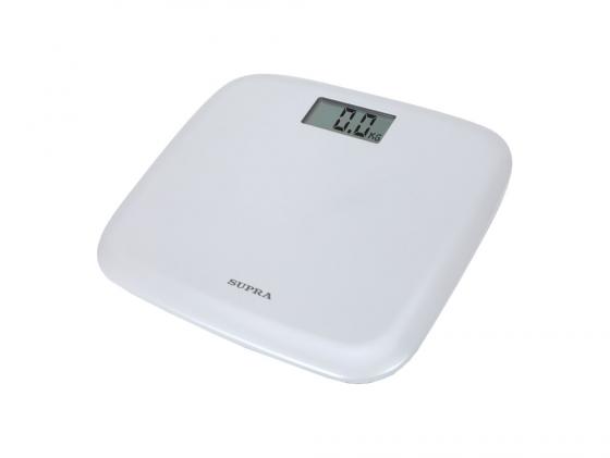 все цены на Весы напольные Supra BSS-6050 WH белый онлайн