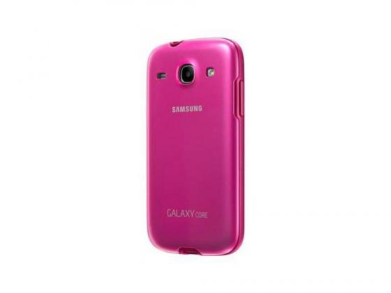 Чехол Samsung для Galaxy Core i8262 розовый EF-PI826BPEGRU стоимость