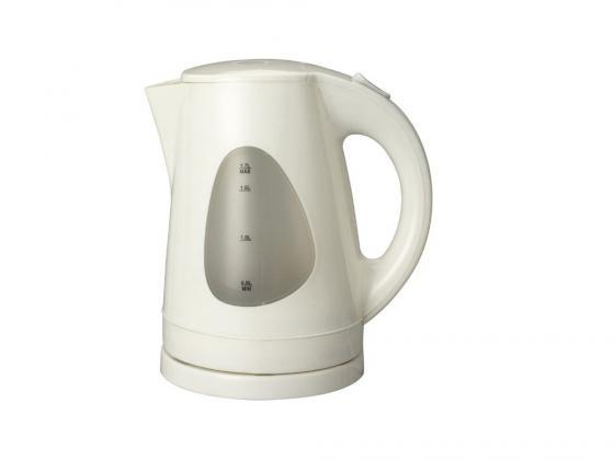 Чайник Supra KES-1708 2200Вт 1.7л пластик бежевый чайник электрический supra kes 1708 2200вт белый и фисташковый