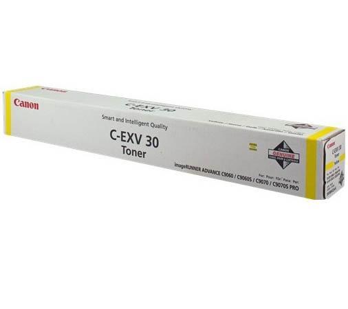 Тонер Canon C-EXV30Y для C9000 PRO желтый 54000стр total quartz 9000 future 5w 30