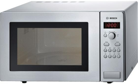 где купить Микроволновая печь Bosch HMT84M451R 900 Вт серебристый дешево