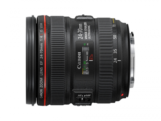 Объектив Canon EF 24-70mm f/4L IS USM 6313B005 объектив canon ef 11 24 mm f 4 l usm