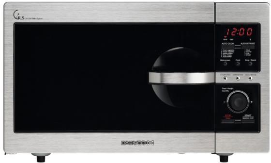 Микроволновая печь DAEWOO KOR-8A4R 800 Вт серебристый микроволновая печь sharp r 6000rw 800 вт белый чёрный