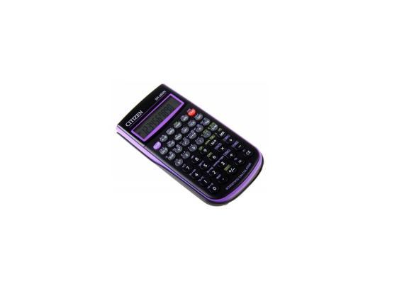Калькулятор Citizen SR-260NPU 10+2 разряда научный 165 функций черно-фиолетовый калькулятор casio fx 82sxplus питание от батареи 12 разряда научный 177 функций синий