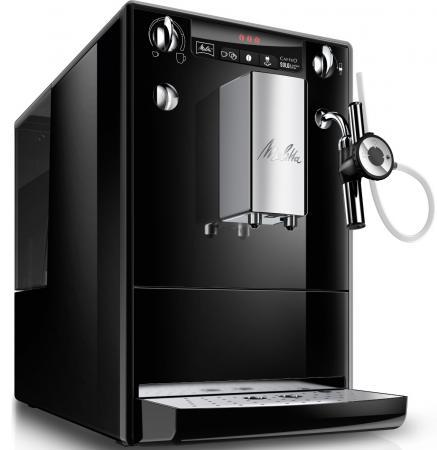 лучшая цена Кофемашина Melitta Caffeo Solo&Perfect milk Е 957-101 1400 Вт черный
