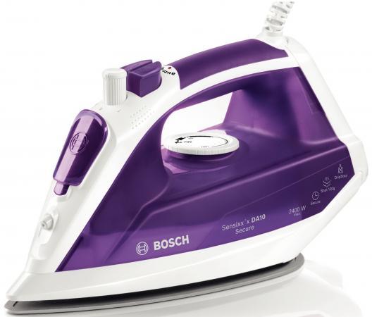 Утюг Bosch TDA1024110 2400Вт бело-фиолетовый утюг bosch tda1024110