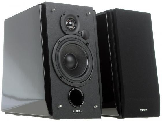 Колонки Edifier R1800 TIII 2x35Вт RMS черный колонки edifier r1850db 2x35 вт черный