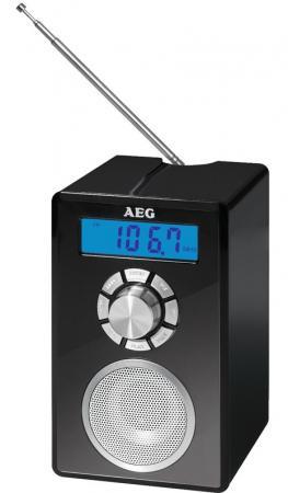 Радиоприемник AEG MR 4139 BT черный магнитола aeg sr 4353 черный красный