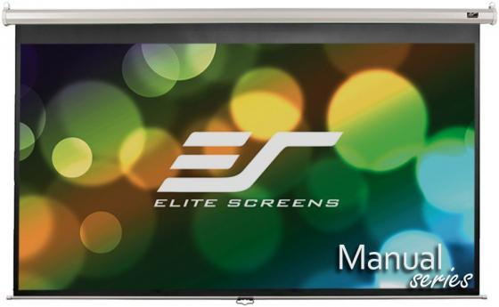 Экран настенный Elite Screens M100XWH 221 x 124 см M100XWH экран настенный elite screens 152x152см m85xws1 ручной mw белый