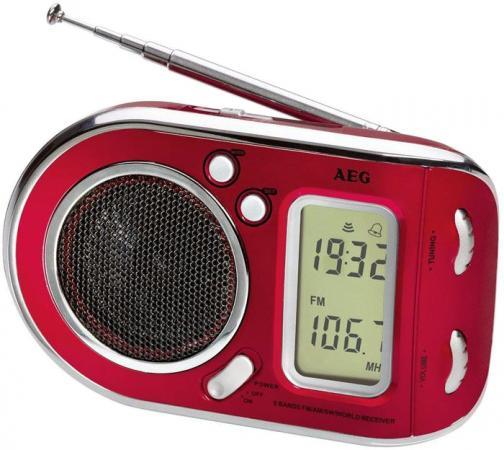 Радиоприемник AEG WE 4125 красный радиоприемник aeg tr 4131 бело серебристый