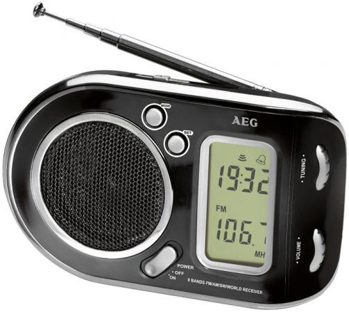 Радиоприемник AEG WE 4125 черный радиоприемник aeg tr 4131 бело серебристый