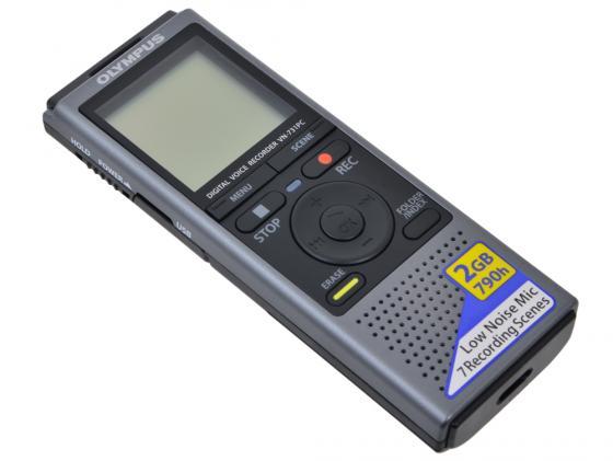 Цифровой диктофон Olympus VN-731PC 2Гб серый