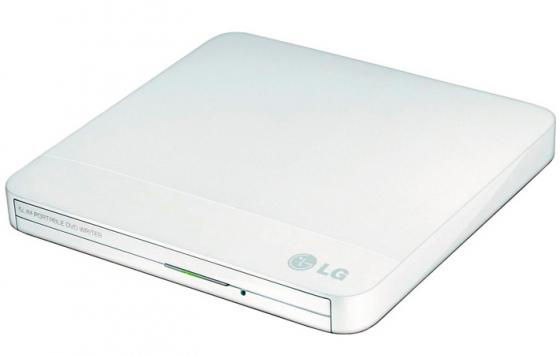Внешний привод DVD±RW+CD/RW LG GP50NW41 Slim белый Retail slim portable usb 2 0 dvd rw external optical drive