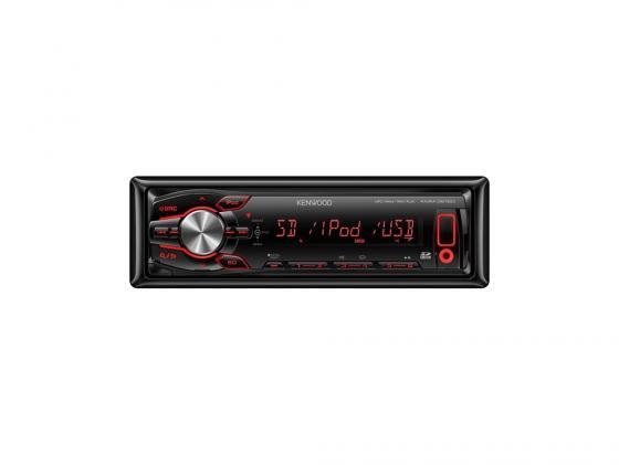 Автомагнитола Kenwood KMM-361SDED USB MP3 FM 1DIN 4х50Вт черный автомагнитола kenwood kmm 203 usb mp3 fm 1din 4х50вт черный
