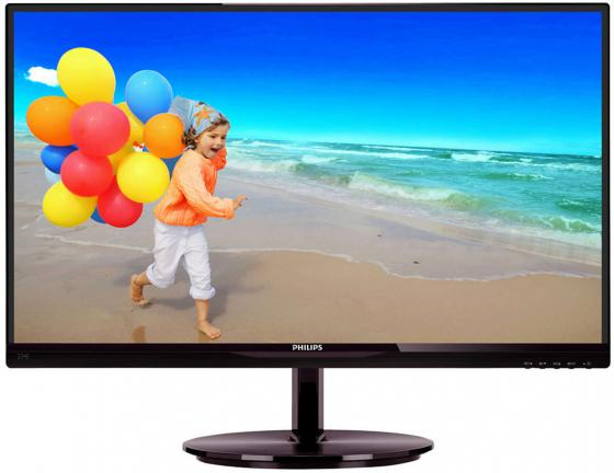 Монитор 23 Philips 234E5QHSB черный AH-IPS 1920x1080 250 cd/m^2 5 ms Аудио VGA HDMI аксессуар lumax hdmi standard 1 5 m ah 0013