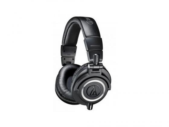 Наушники Audio-Technica ATH-M50X черный audio technica ath m50x coiled cable 1 2m