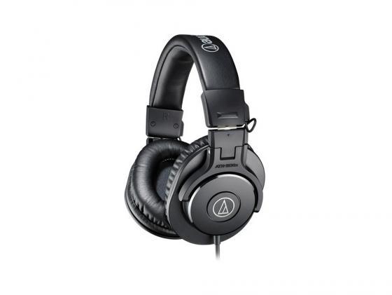 Наушники Audio-Technica ATH-M30X черный охватывающие наушники audio technica ath m30x black