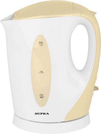 Чайник Supra KES-1702 2200Вт 1.7л пластик бежевый qx42 s1