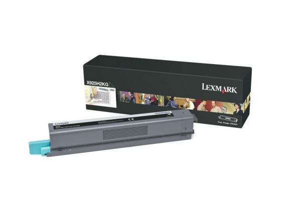 Картридж Lexmark X925H2KG для X925 черный блок формирования изображения lexmark c925x74g для пурпурного картриджа c925 x925 30000стр