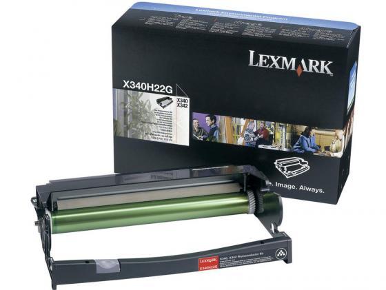 Фотобарабан Lexmark X340H22G для X340/X342 черный картридж lexmark 70c8hke для lexmark cs510 cs410 cs310 черный 4000стр