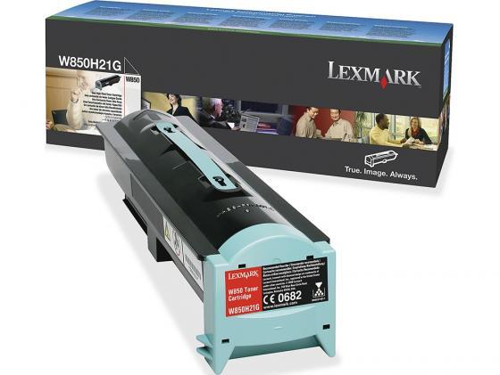 Картридж Lexmark W850H21G для W850 черный картридж lexmark высокой емкости