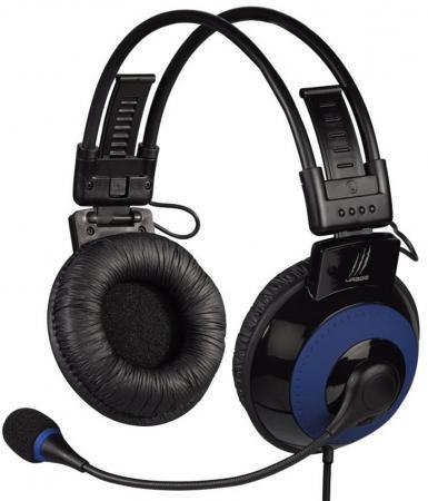 все цены на Гарнитура Hama uRage Vibra H-113721 черный-синий онлайн