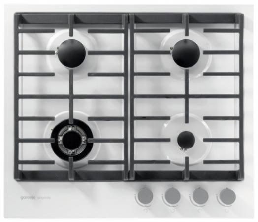Варочная панель газовая Gorenje G6SY2W белый варочная панель gorenje e6n1bx