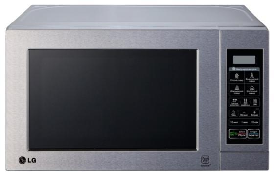 Микроволновая печь LG MS-2044V 800 Вт серебристый батарейку на lg kg 800