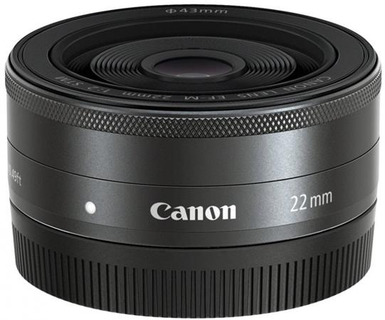 Объектив Canon EF-M 22мм F/2 STM 5985B005 объектив canon ef m 28 mm f 3 5 macro is stm