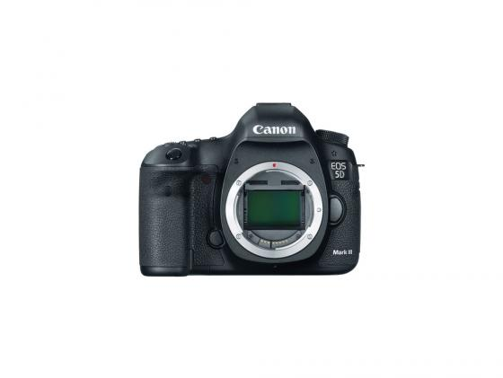 Цифровая фотокамера Canon EOS 5D Mark III без объектива 22Мп черный 5260B004 meike dslr camera built in 2 4g battery grip for canon eos 7d mark ii as bg e16