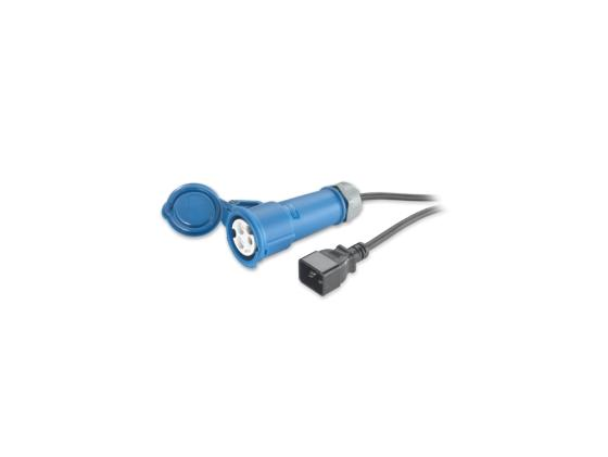 Кабель APC Power Cord C20 to IEC 309F 2.5м AP9899 кабель apc ap9870