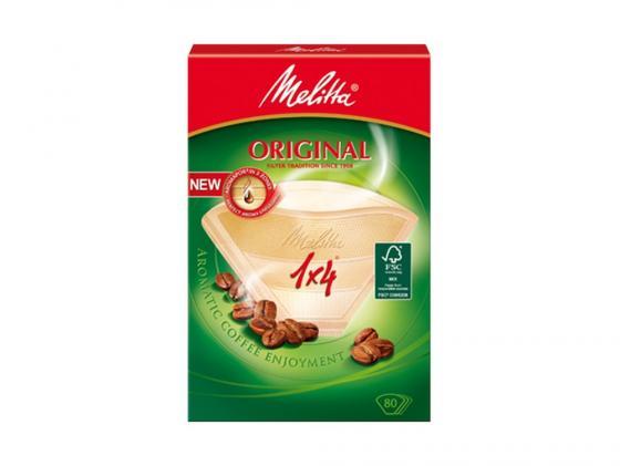 Фильтры бумажные Melitta Original коричневый 1x4/40шт (122134)