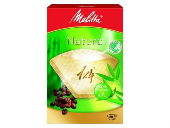 цена на Фильтры бумажные Melitta Natura 1х4/80шт (191154)