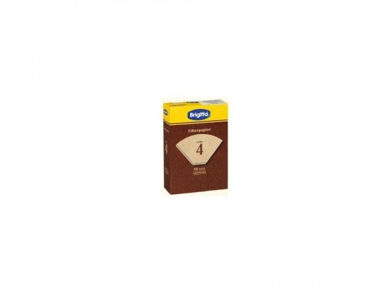 цена на Фильтры бумажные Melitta (Brigita) размер 4 80шт коричневый (000284)