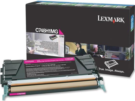 Фото - Картридж Lexmark C748H1MG для C748 повышенной ёмкости пурпурный lexmark 52d5h0e высокой ёмкости черный