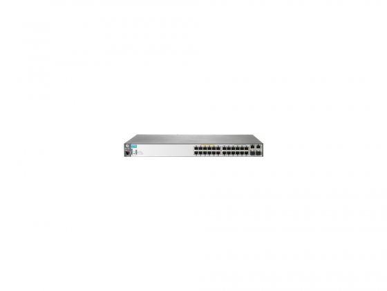 все цены на Коммутатор HP 2620-24-PPoE+ 24 порта 10/100Mbps 2xGLAN J9624A