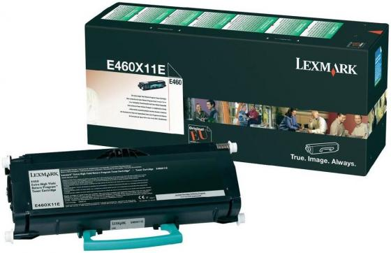 Картридж Lexmark E460X11E для Е460 высокой ёмкости чёрный картридж lexmark 70c8hke для lexmark cs510 cs410 cs310 черный 4000стр