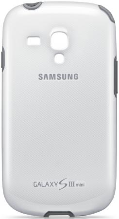 Чехол силиконовый Samsung Protective Cover+ S3 mini/I8190 белый EFC-1M7BWEGSER стилус other apple ipad samsung galaxy s3 i9300 21 eg0628