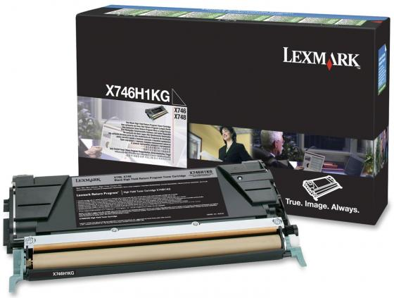 Картридж Lexmark C746H1KG для C746/C748 черный картридж lexmark высокой емкости с малиновым тонером x925 7 5k