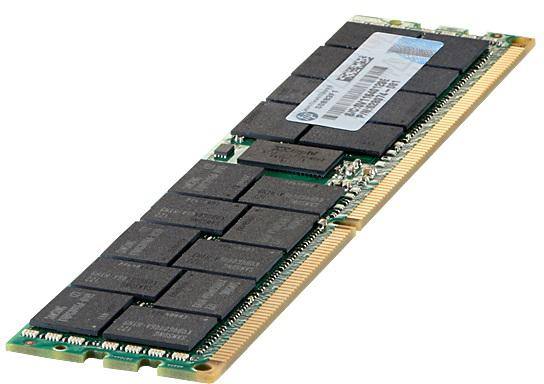 Оперативная память 8Gb (1x8Gb) PC3-12800 1600MHz DDR3 DIMM Buffered ECC CL11 HP 713983-B21 оперативная память 4gb 1x4gb pc3 12800 1600mhz ddr3 dimm ecc buffered cl11 hp 713981 b21