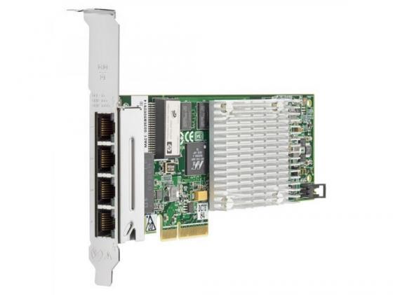 Плата коммуникационная HP NC375T PCI Express Quad Port Gigabit Server Adapter 538696-B21 advanced 2017 computer accessories new 4 pin molex to 6 pci express pcie video card power converter adapter cable